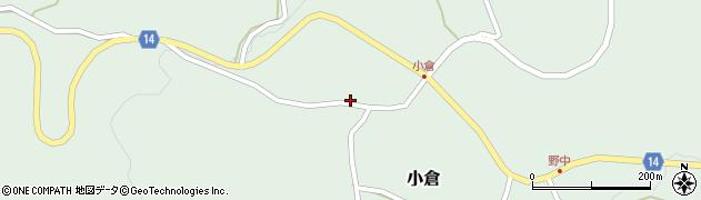 山形県上山市小倉578周辺の地図