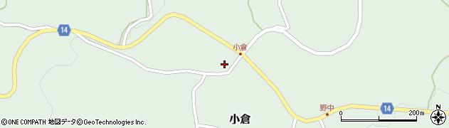 山形県上山市小倉9周辺の地図