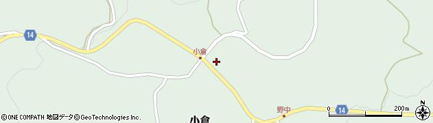 山形県上山市小倉76周辺の地図