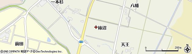 宮城県名取市牛野(柿沼)周辺の地図