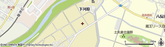 山形県上山市泉川芳渕周辺の地図