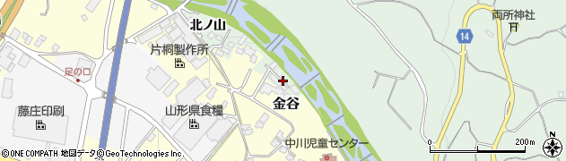 山形県上山市権現堂東周辺の地図