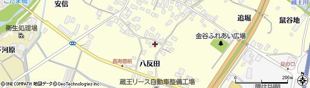 山形県上山市金谷68周辺の地図