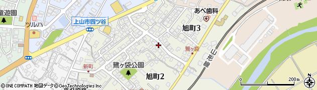 山形県上山市北町(鷺ケ袋)周辺の地図