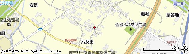 山形県上山市金谷67周辺の地図