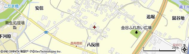 山形県上山市金谷71周辺の地図