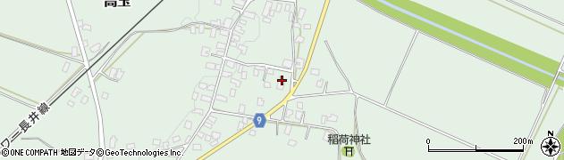 山形県西置賜郡白鷹町高玉1083周辺の地図