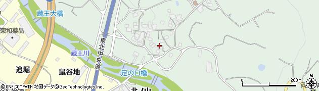山形県上山市権現堂東362周辺の地図