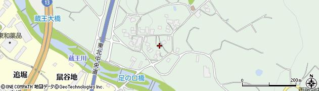 山形県上山市権現堂378周辺の地図