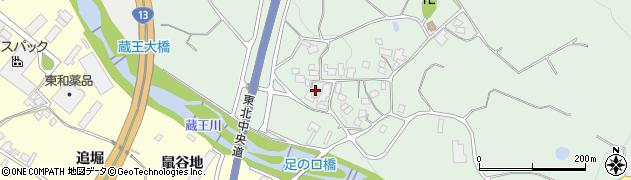 山形県上山市権現堂369周辺の地図