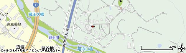 山形県上山市権現堂374周辺の地図