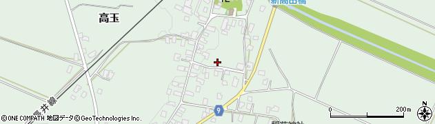 山形県西置賜郡白鷹町高玉1098周辺の地図