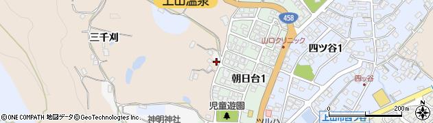 山形県上山市北町三千刈787周辺の地図