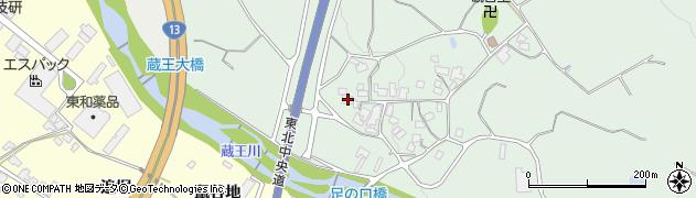 山形県上山市権現堂足ノ口367周辺の地図
