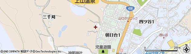 山形県上山市北町三千刈782周辺の地図