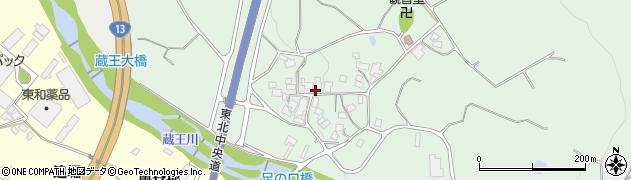山形県上山市権現堂375周辺の地図