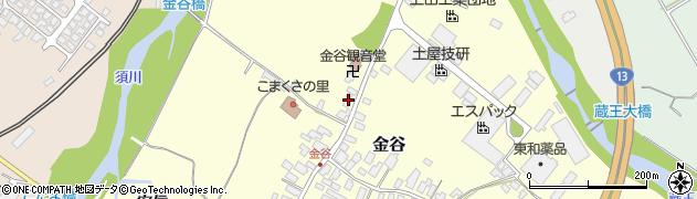 山形県上山市金谷金谷神912周辺の地図