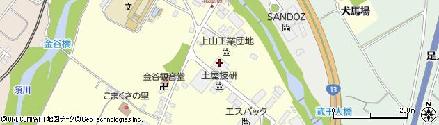 山形県上山市金谷金谷神1155周辺の地図