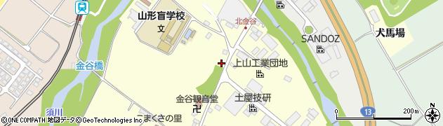 山形県上山市金谷金谷神1148周辺の地図