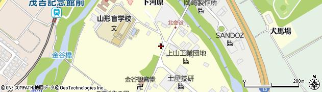山形県上山市金谷金谷神1146周辺の地図