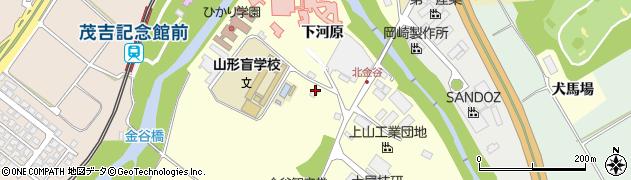 山形県上山市金谷金ケ瀬1120周辺の地図