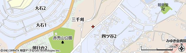 山形県上山市北町外原581周辺の地図