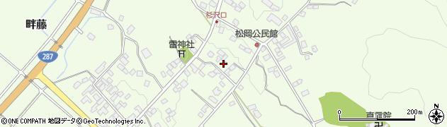 山形県西置賜郡白鷹町畔藤2430周辺の地図