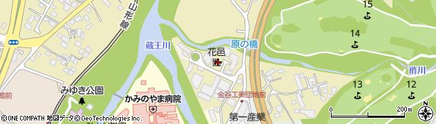 山形県上山市金瓶湯尻19周辺の地図