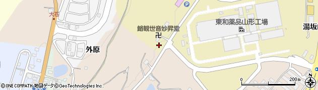 山形県上山市金瓶山ノ上92周辺の地図