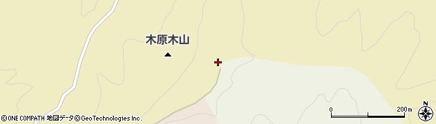 木原木山周辺の地図