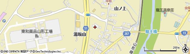 山形県上山市金瓶山ノ上21周辺の地図