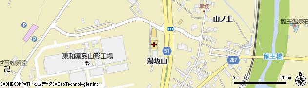 山形県上山市金瓶山ノ上28周辺の地図
