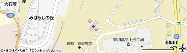 山形県上山市金瓶山ノ上134周辺の地図