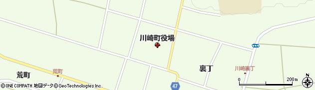 宮城県柴田郡川崎町周辺の地図