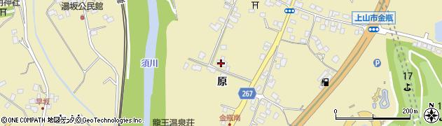 山形県上山市金瓶原56周辺の地図
