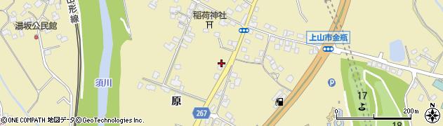 山形県上山市金瓶原73周辺の地図