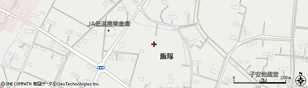 宮城県名取市下余田(飯塚)周辺の地図