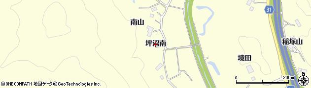 宮城県仙台市太白区坪沼(南)周辺の地図
