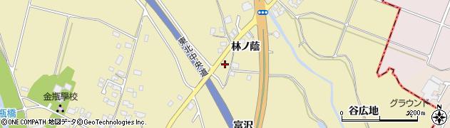 山形県上山市金瓶林ノ蔭53周辺の地図