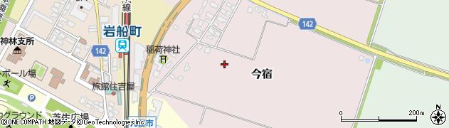 新潟県村上市今宿周辺の地図