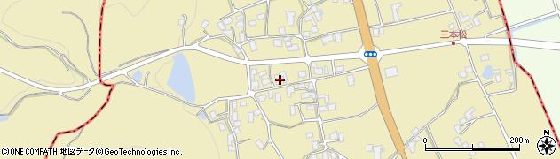 山形県上山市久保手3233周辺の地図