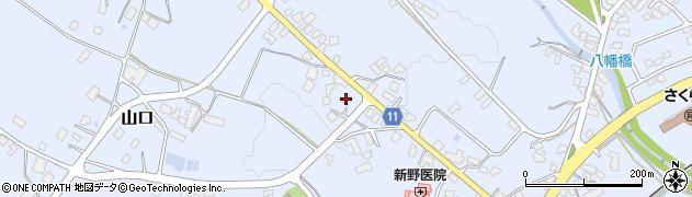 山形県西置賜郡白鷹町鮎貝1151周辺の地図