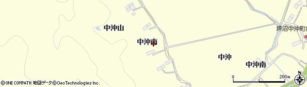 宮城県仙台市太白区坪沼(中沖南)周辺の地図