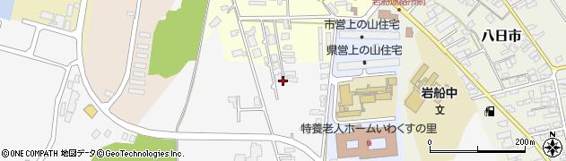 新潟県村上市岩船周辺の地図