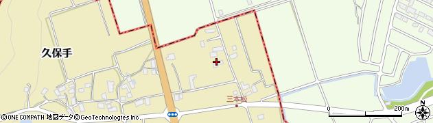 山形県上山市久保手3111周辺の地図
