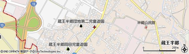 山形県山形市蔵王半郷(藤木)周辺の地図