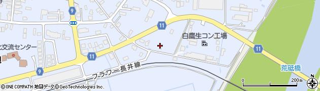 山形県西置賜郡白鷹町鮎貝5769周辺の地図