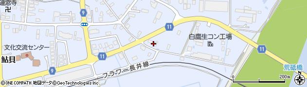 山形県西置賜郡白鷹町鮎貝2795周辺の地図