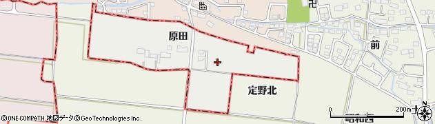 宮城県名取市下余田(原田)周辺の地図