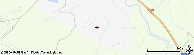 山形県上山市小白府千丁金周辺の地図